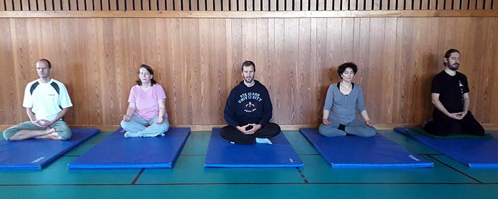 séance de méditation au club - Tai chi chuan - Tai-chi-chuan - Aramis - Houilles