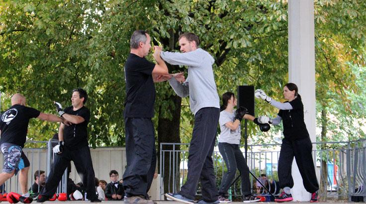 Forum des Associations 2017 - Démonstration du martial